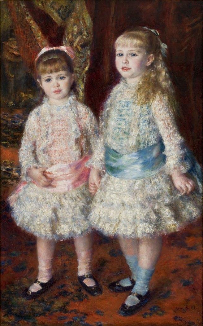 Brazil-SP-Sao Paulo - MASP Collection - Rosa e Azul - Renoir 1881